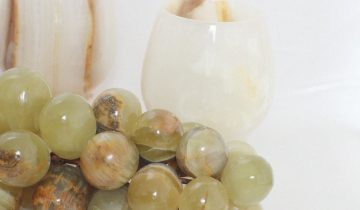 Modern Vs Vintage: Alabaster Grapes
